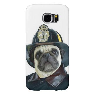 Fireman pug dog  Samsung s6 case