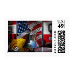 Fireman - Red Hot Postage Stamp