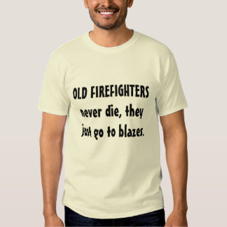 fireman retirement gift shirt