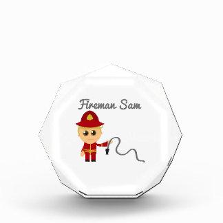 Fireman Sam Acrylic Award