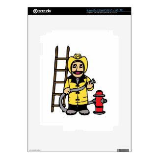 Fireman iPad 3 Decal