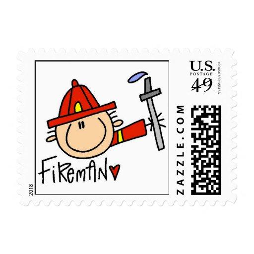 Fireman Stamps