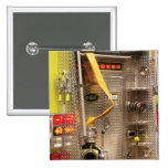 Fireman - Station - 36-3 2 Inch Square Button