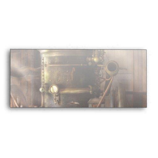 Fireman - Steam Powered Water Pump Envelope