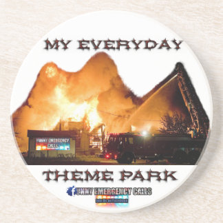 Fireman Table Coaster MY EVERYDAY THEME PARK
