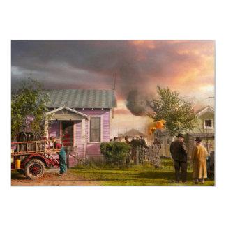 Fireman - Terry MT - Volunteer firefighters 1939 Card