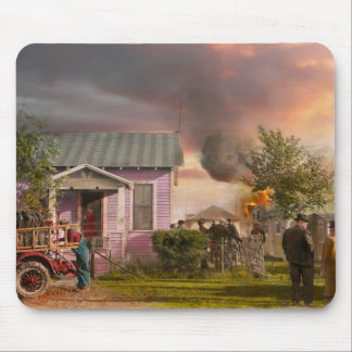 Fireman - Terry MT - Volunteer firefighters 1939 Mouse Pad