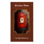 Fireman - The fire box Business Card