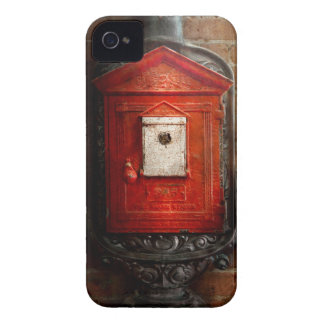 Fireman - The fire box iPhone 4 Cases