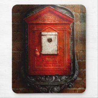 Fireman - The fire box Mouse Pad