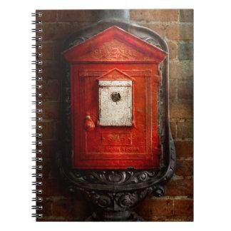 Fireman - The fire box Notebook