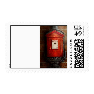 Fireman - The fire box Postage Stamp