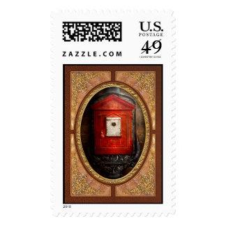 Fireman - The fire box Postage