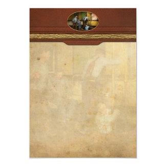Fireman - The firebell rings 1922 Card