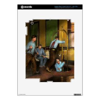 Fireman - The firebell rings 1922 iPad 3 Skins