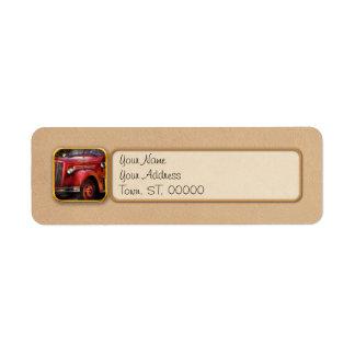 Fireman - The Garwood fire dept Label