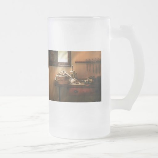 Fireman - The humble fire hose 16 Oz Frosted Glass Beer Mug
