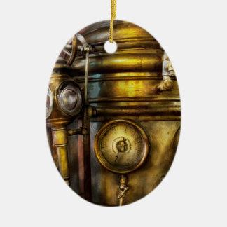 Fireman - The Steam Boiler  Ceramic Ornament