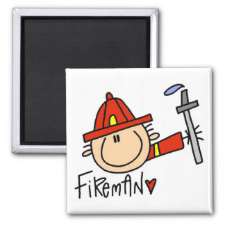 Fireman Tshirts and Gifts Magnet