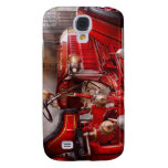 Fireman - Waiting for a call Samsung Galaxy S4 Cases