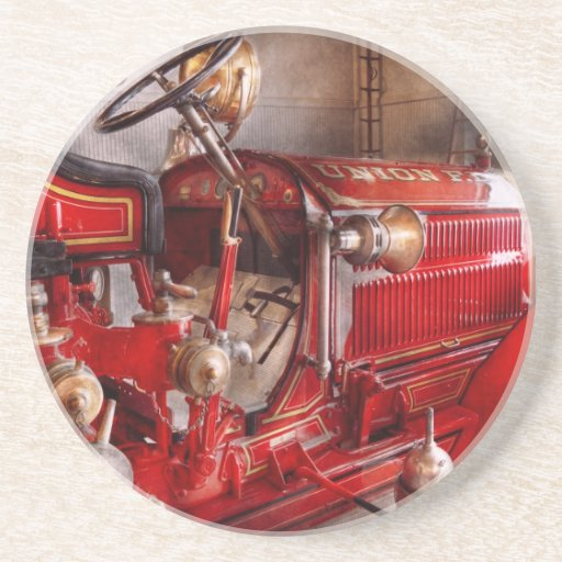 Fireman - Waiting for a call Coasters