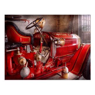 Fireman - Waiting for a call Postcard