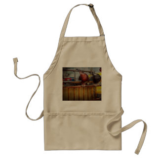 Fireman - Waiting for a Hero Adult Apron