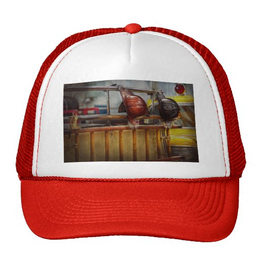 Fireman - Waiting for a Hero Trucker Hat