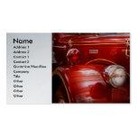 Fireman - Ward La France Business Card