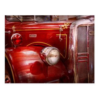 Fireman - Ward La France Postcard