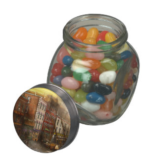 Fireman - Washington DC - Fire at Bedell's Bedding Jelly Belly Candy Jar