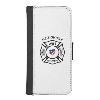 Fireman Wives iPhone SE/5/5s Wallet