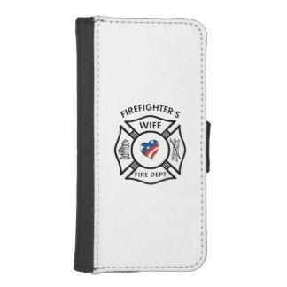 Fireman Wives iPhone SE/5/5s Wallet