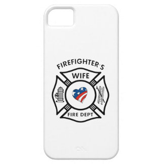 Fireman Wives USA iPhone 5 Case