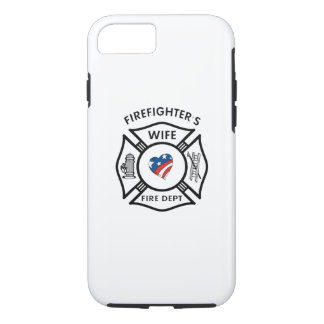 Fireman Wives USA iPhone 8/7 Case