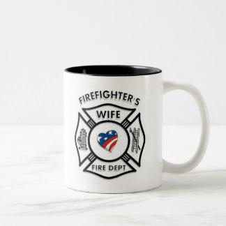 Fireman Wives USA Coffee Mugs