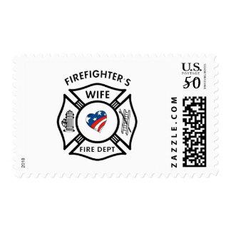 Fireman Wives USA Postage