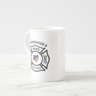 Fireman Wives USA Tea Cup
