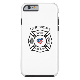 Fireman Wives USA Tough iPhone 6 Case