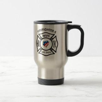 Fireman Wives USA Travel Mug