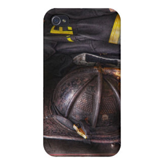 Fireman - Worn and used Cover For iPhone 4