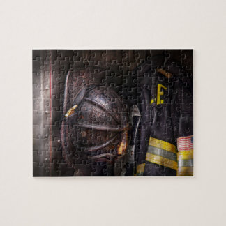 Fireman - Worn and used Jigsaw Puzzle