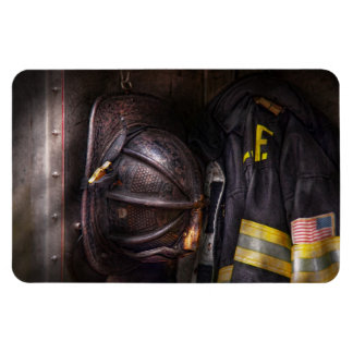Fireman - Worn and used Magnet
