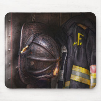 Fireman - Worn and used Mouse Pad