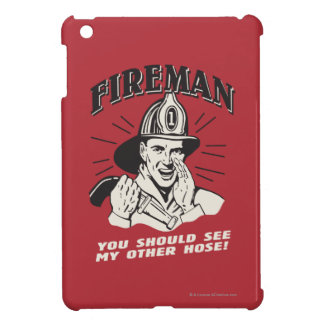 Fireman: You Should See My Other Hose Cover For The iPad Mini