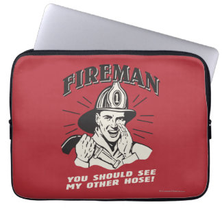 Fireman: You Should See My Other Hose Laptop Computer Sleeves