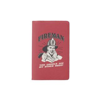Fireman: You Should See My Other Hose Pocket Moleskine Notebook