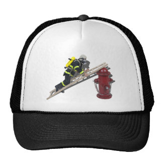 FiremanLadderHydrant050512 png Gorro De Camionero