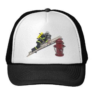 FiremanLadderHydrant050512.png Gorras De Camionero