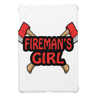 FIREMANS GIRL iPad MINI COVERS